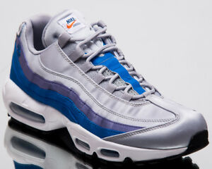Nike Air Max 95 SE Blue Nebula Men New Wolf Grey Lifestyle Sneakers ... aaf6abd81