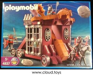 Discontinued Playmobil 4837 Medieval Castle Knights Siege Catapult NEW