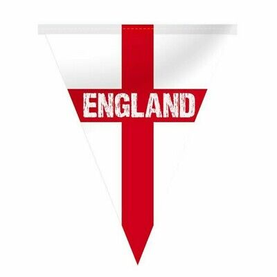12 flags Euro 2020 2021 Football Rugby Cricket Tennis England Bunting 5 metres