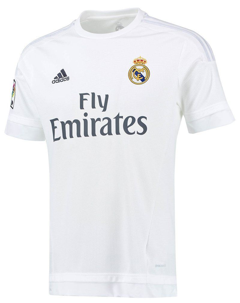 100% Authentic Adidas Men's Real Madrid Home Jersey 2015- 2016, Size  XL