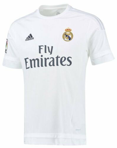 100% Authentic Adidas Men's Real Madrid Home Jersey 2015 2016