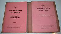 Ersatzteilkatalog Mercedes LKW Typ O 6600 H Fahrgestell O 320 H Ersatzteilliste!