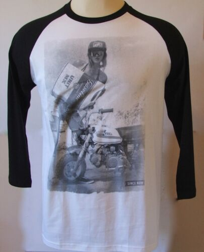 "UNIT RIDERS /""ZED 50/"" 3//4 SLEEVE T SHIRT LARGE OR XL BNWT SALE"