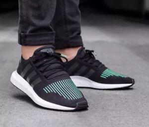 RUNNING SHOES BLACK/GREEN Sz 11.5