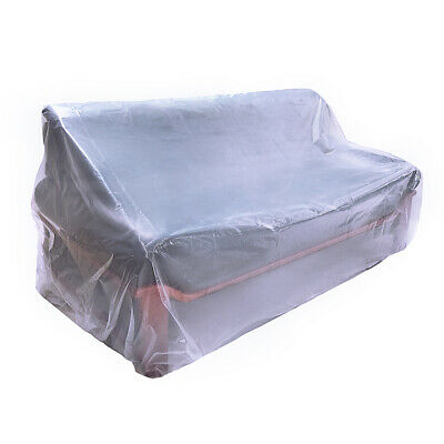 Dust Proof Plastic Armchair Couch Cover 5 5 Mil Extra
