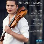 Barber, Korngold: Violin Concertos; Waxman: Carmen Fantasie; Williams: Theme from Shindler's List (CD, Feb-2012, Oehms Classics)