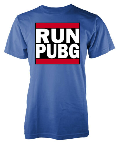 Run PUBG Player Unknown Battleground DMC inspired adult t-shirt