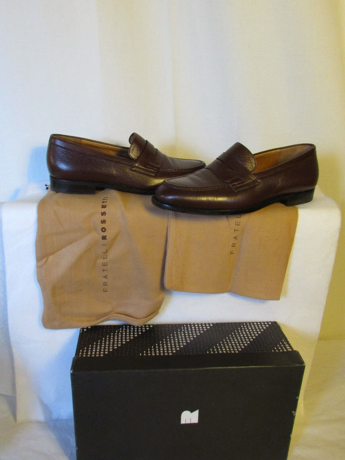 Mocassins FRATELLI ROSSETTI  cuir brown pointure 6,5  (40) (40) (40) abb215