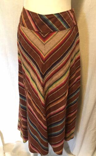 Ralph Lauren Linen Multicolored Southwestern Serap