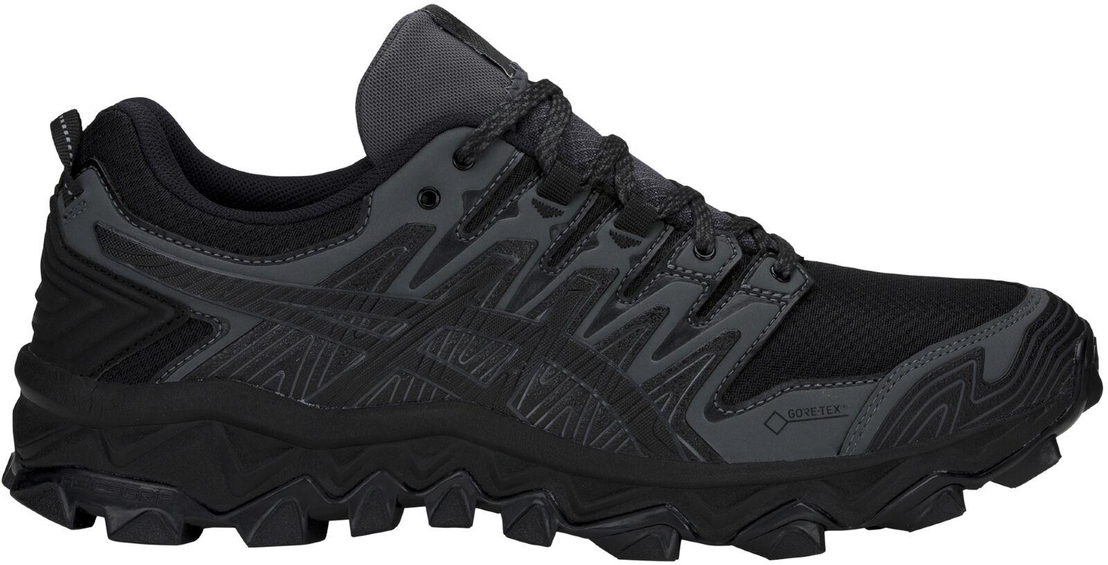 Asics Gel FujiTrabuco 7 GTX mannens Trail hardlopen schoenen --zwart