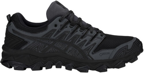 Asics Gtx Fujitrabuco Gel para hombre Zapatillas 7 para Negro correr fIYBTE