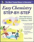 Easy Chemistry Step-by-step 9780071767880 by Marian Dewane Paperback