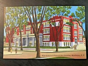 Vintage-Postcard-gt-1930-45-gt-High-School-of-Practical-Arts-gt-Manchester-gt-New-Hampshire
