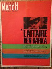 Paris Match 29/01/66 Affaire BEN BARKA Dewi Soekarno Brigitte Bardot Liz Taylor