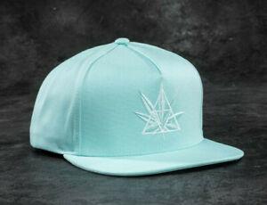 Huf-Worldwide-Footwear-Shoes-Cap-Snapback-Hat-420-Triple-Triangle-Mint-Plantlife