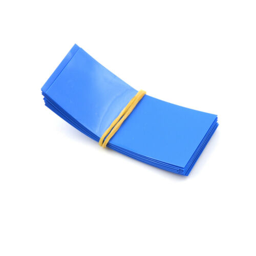 20Pcs 18650 Battery Wrap Pvc Heat Shrink Tubing Pre-Cut Precut JDCP