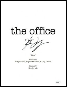 """Kate Flannery Autograph Signed Script Cover - The Office """"Meredith"""" (JSA COA)"""