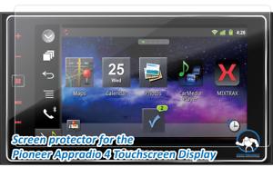 2pcs Tuff Protect Clear Screen Protectors for Pioneer AppRadio 4 SPH-DA120