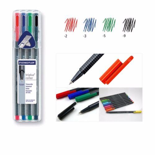 403 SB4 0.4mm 4 Color Staedtler triplus Rollerball Pens