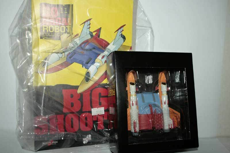 GO NAGAI ROBOT USCITA COLLECTION USCITA ROBOT n. 11 BIG SHOOTER FIGURE NUOVA ITA GM4 55850 4c3d18