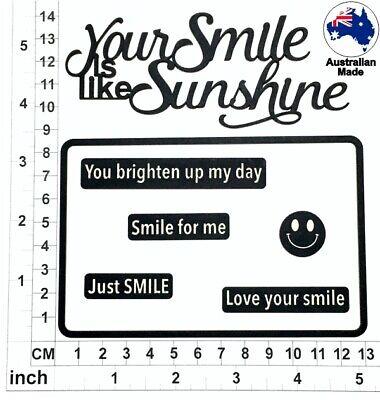 Chipboard Embellishments for Scrapbooking Scrap Words 42 CB1259 Cardmaking