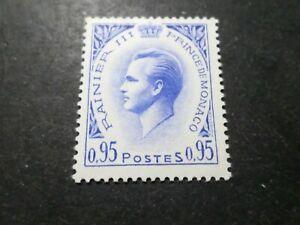 Monaco 1960, Timbre 549a, Prince Rainier Iii, Celebrity, Neuf**, Mnh Exquis (En) Finition