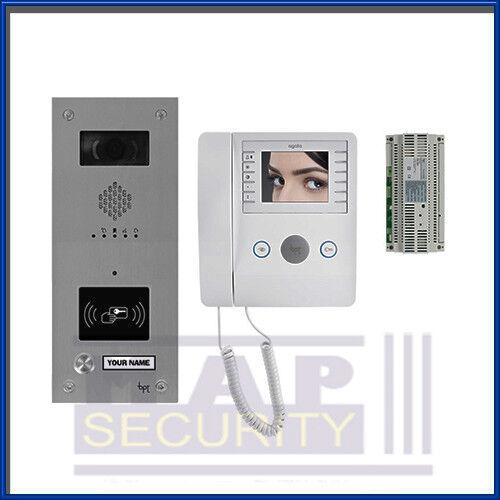 Bpt 1 Way Video Intercom Door Entry System With Proximity Reader