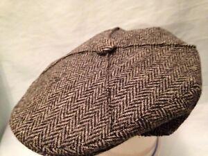 8059834ab JCrew Driver cap in Harris Tweed wool For a guy t