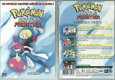 DVD - POKEMON : BATTLE FRONTIER / 4 EPIDODES ( DESSIN ANIME )