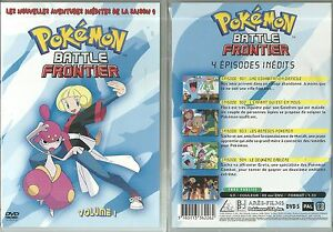 Dvd Pokemon Battle Frontier 4 Epidodes Dessin Anime Ebay