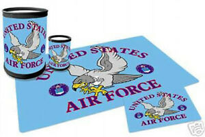 U-S-AIR-FORCE-034-EAGLE-034-4-PIECE-DESK-SET
