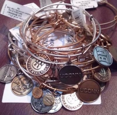 Alex and Ani Initials Choose Silver Gold Expandable Bracelets NWT 1st /& 2nd Ed❤️