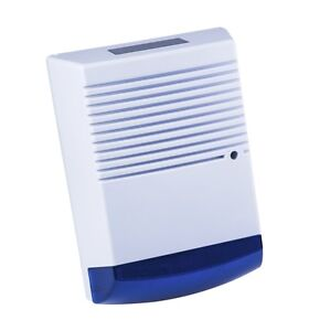 Dummy-Burglar-Alarm-Box-Solar-Powered-dummy-alarm-Siren-Blue-Flashing-DEL