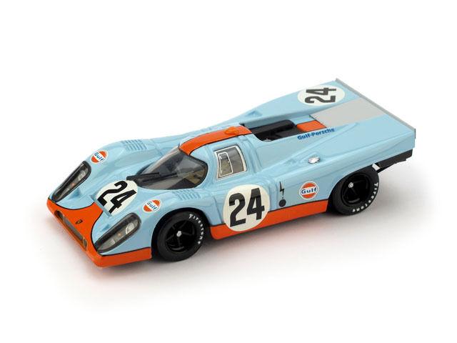 Porsche 917K Gulf  24 Winner 1000 Km Spa 1970 Siffert   rougeman 1 43 R555 BRUMM
