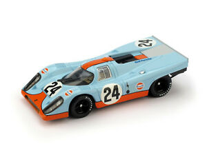 Porsche 917K Gulf #25 1000 Km Spa 1970 Rodriguez Kinnunen 1:43 Model BRUMM