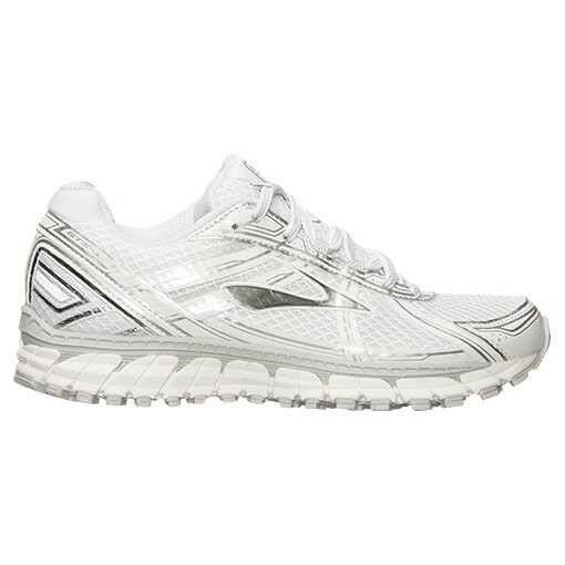 Brooks Adrenaline GTS 15 Women's sz 6 White Silver 1201741B169