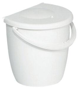 Haefele-Einfach-Abfallsammler-11-Liter-Muelleimer-zum-Einbauen-Kueche-Bad-weiss