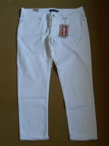 Levi/'s ~ Cuffed Ankle Women/'s Skinny Jeans $42 NWT