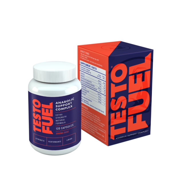TestoFuel Anabolic Support Complex Testosterone Booster - 120 Capsules for sale online eBay