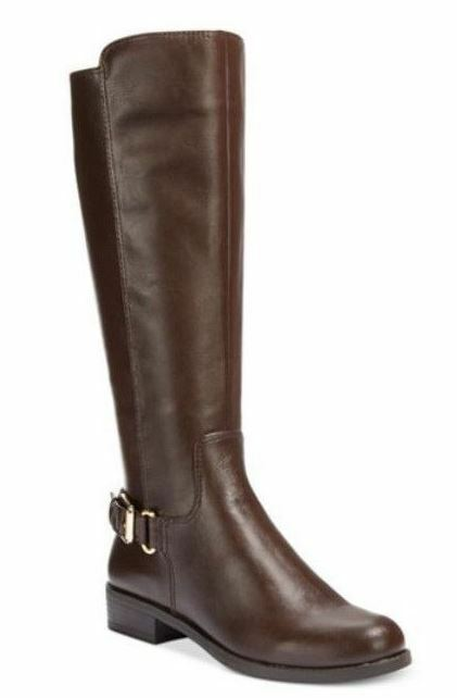 Alfani Women's Jarabina Brown Tall Riding Boots Boots Boots ad86d7