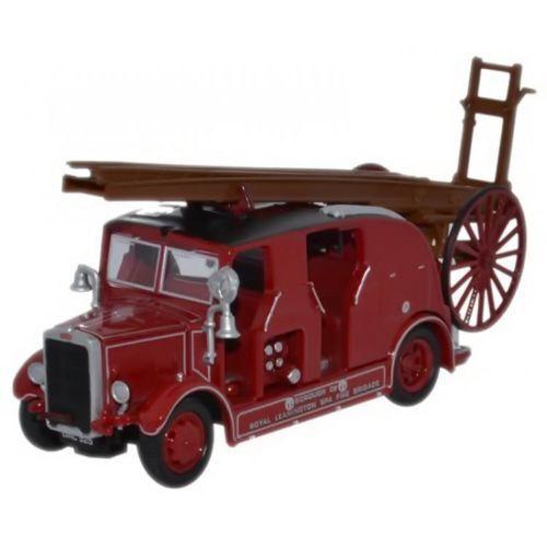 Oxford Diecast Leyland Cub FK7 Leamington Fire Brigade 76LC003