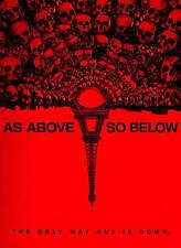 As Above, So Below (DVD, 2014) VG