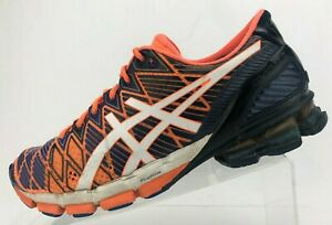 la moitié 3a226 99289 Asics Gel Kinsei 5 Running Shoes Blue Orange Training ...