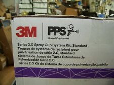 3m Linered Spray Cup System Pps Series 20 Standard 22oz Lids Amp Liners 32 Each