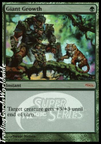 Promos //// engl //// Magic the Gathering Giant Growth //// Foil //// NM //// JSS