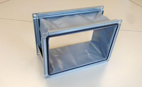 Elastischer Verbindungsstutzen Segeltuchstutzen für Lüftungskanäle 300x500