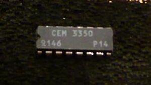 CEM3350-Dual-VCF-Filter-IC-Chip-Chroma-Syrinx-Spirit-NEW-NOS-TESTED