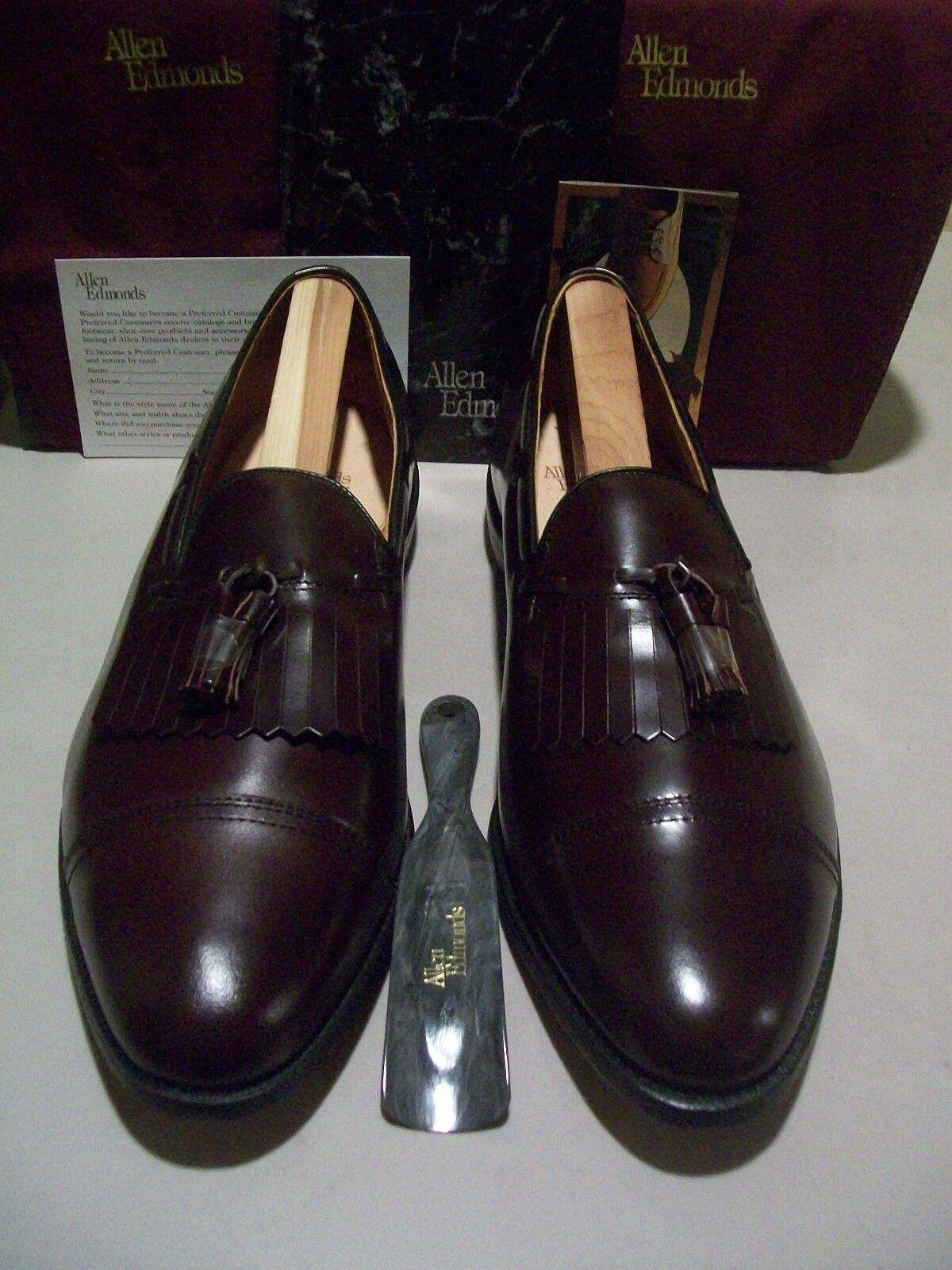 New 1st Quality Allen Edmonds Dalton 16 D burgundy