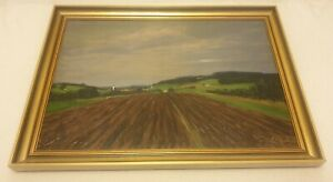RICHARD-PIETZSCH-1872-1960-large-original-signed-oil-painting-1937-agriculture