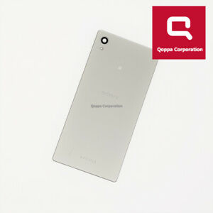 Sony Xperia M4 Aqua E2303 - Genuine Back Battery Cover - Silver - Grade C
